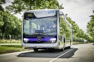 Daimler Buses präsentiert autonom fahrenden Stadtbus. © spothits/Daimler