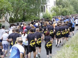 3000 Starter beim Opel-Firmenlauf. © spothits/Opel
