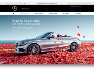 """Mercedes-Benz startet Kampagne für vier """"Traumwagen"""". © spothits/Daimler"""