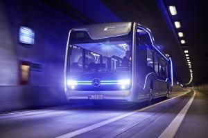 Daimler: Schöner fahren im Bus. © spothits/Daimler