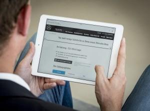 Mercedes-Benz startet Neuwagen-Online-Verkauf in ganz Deutschland. © spothits/Daimler
