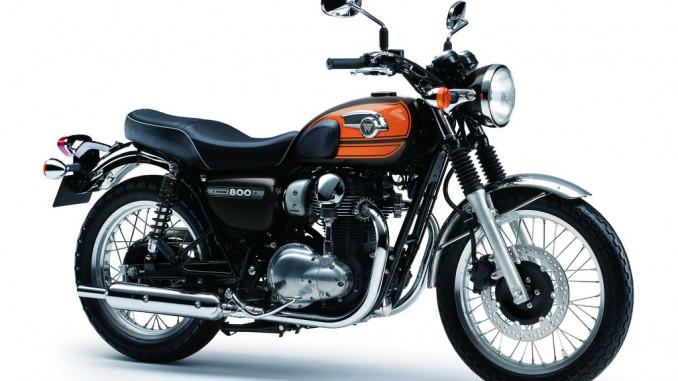 Kawasaki W800 Final Edition kostet 8690 Euro. © spothits/Kawasaki