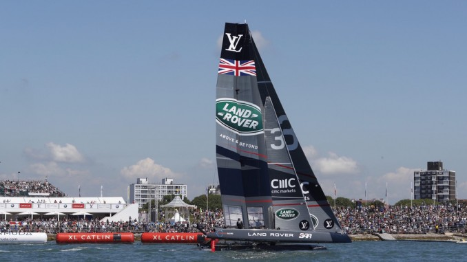 Land Rover BAR bei America's Cup vor Portsmouth erfolgreich © spothits/Land Rover