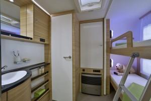 Dethleffs Camper mit neuen Stockbett-Grundrissen und mehr Serienaussattung. © spothits/Dethleffs