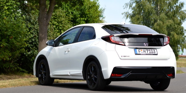 Test Honda Civic 1.6 i-DTEC Sport. © spothits