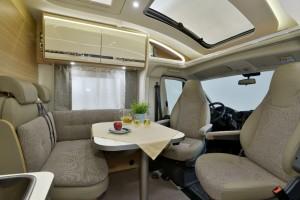 Detleffs Globebus: Mehr Raum, mehr Komfort. © spothits/Dethleffs