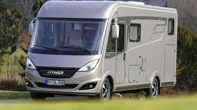 Hymermobil B-Klasse Dynamic Line 588 ist bester Integrierter. © spothits/Hymer GmbH & Co. KG