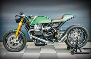 Moto Guzzi bei Essenza: Design-Contest mit zwei 1/8 Meile Sprintennen. © spothits/Moto Guzzi