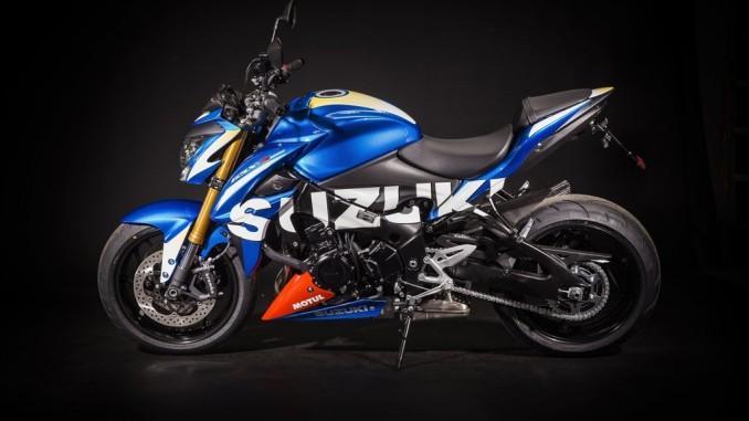 Suzuki GSX-S 1000 im Moto-GP-Design. © spothits/Suzuki
