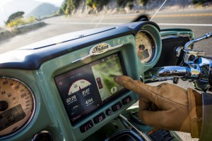 "Indian bringt Infotainmentsystem ""Ride Command"". © spothits/Indian"