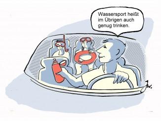 Gut vorbereitet die Urlaubs- oder Heimreise antreten. © spothits/Goslar Institut