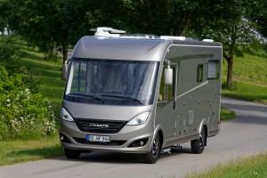 Caravan-Salon 2016: Duomobil von Hymer bleibt unter 3,5 Tonnen. © spothits/Hymer