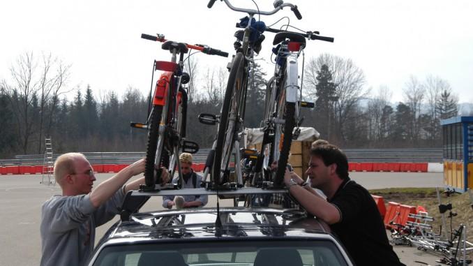 Fahrräder richtig und sicher transportieren. © spothits/ADAC