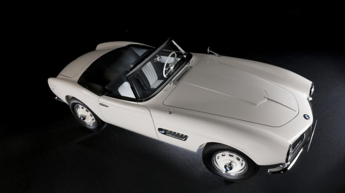 BMW 507: Elvis Presley war sofort begeistert. © spothits/BMW