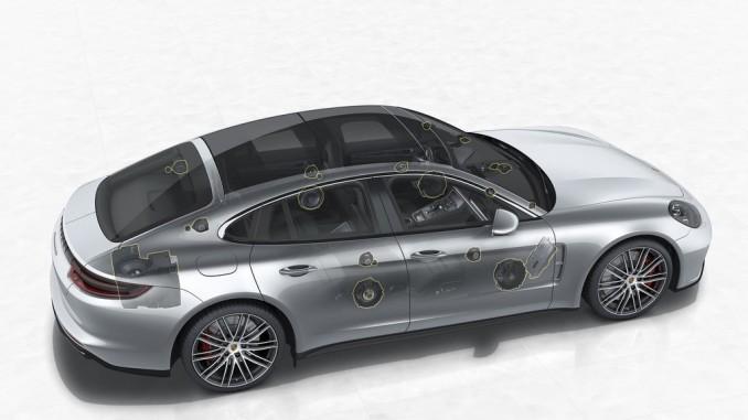 3-D-Klänge im Porsche Panamera. © spothits/Porsche