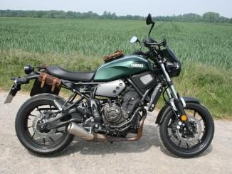 Yamaha XSR 700: Bestseller in coolem Kleid. © spothits/Auto-Medienportal.Net