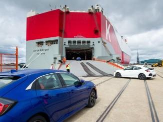 Honda exportiert Civic Fünftürer in die USA. © spothits/Honda