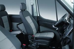Hyundai H350 jetzt auch als Bus. © spothits/Hyundai