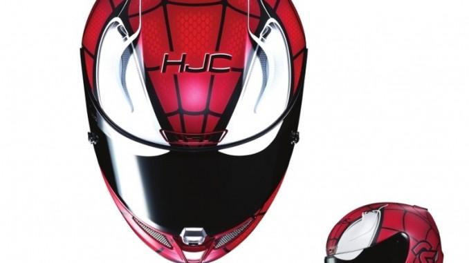 Marvel-Superhelden fürs Motorradfahren. © spothits/HJC