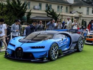 US-Premiere für Bugatti Vision Gran Turismo. © spothits/Bugatti
