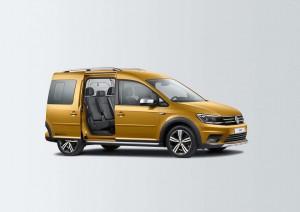 """""""Alltrak""""-Paket für den VW Caddy Beach. © spothits/Volkswagen"""