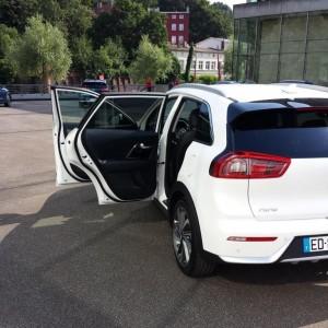 Kia Niro: Das City-SUVchen als Hybrid spart Benzin und geizt mit Abgasen. © spothits/Heiner Klempp