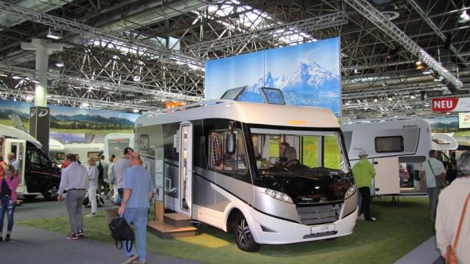 Caravan Salon: Dethleffs startet erfolgreich ins neue Modelljahr. © spothits/Dethleffs