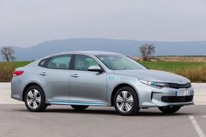 Kia Optima Plug-in-Hybrid: Spitzenwerte beim Benzinsparen… © spothits/Heiner Klempp
