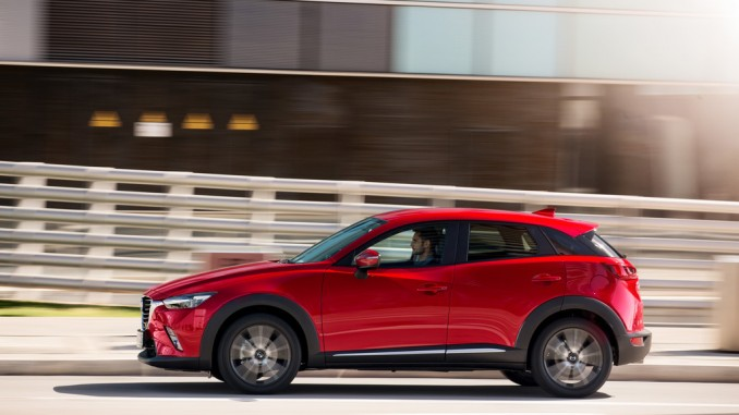 Mazda CX-3: Kleiner Bruder. © spothits/Mazda