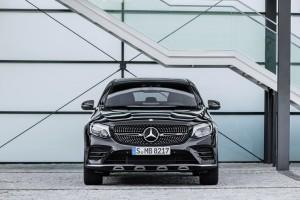 Mercedes AMG GLC 43 4Matic Coupé: Rasante Erscheinung. © spothits/Hersteller