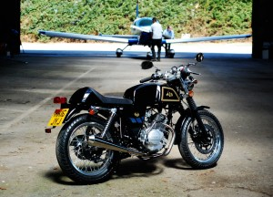 AJS Cadwell: Noch ein schickes 125er-Retro-Bike aus China. © spothits/AJS Motors