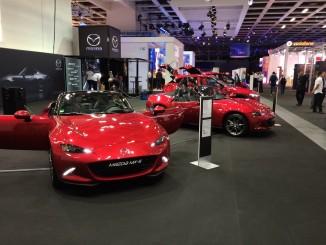 Mazda zeigt sich auf der IFA. © spothits/Mazda