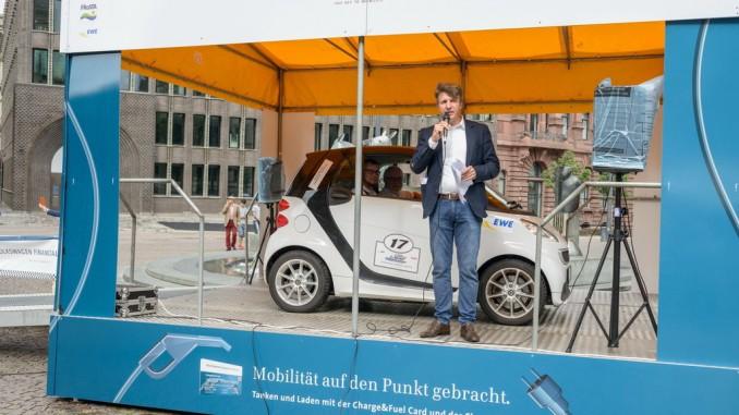 E-Mobil-Rallye mit Überraschungssieger. © spothits/Uesofilm.de