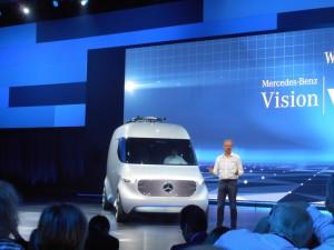 Mercedes-Benz Vision Van: Ab in die Zukunft. © spothits/Auto-Medienportal
