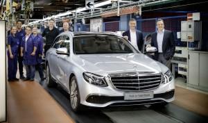 Produktion des E-Klasse T-Modells gestartet. © spothits/Daimler