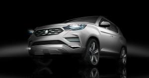 Paris 2016: Ssangyong LIV-2 kündigt neues SUV an. © spothits/Ssangyong