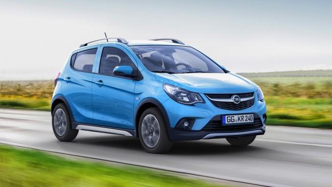 Paris 2016: Opel Karl als junger Wilder. © spothits/Opel