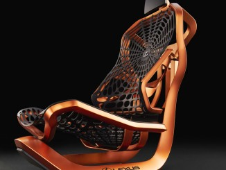 Paris 2016: Lexus stellt netzartige Sitzkonstruktion vor. © spothits/Lexus