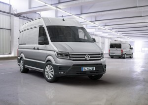 "VW Crafter ist ""International Van of the Year 2017"". © spothits/Volkswagen"