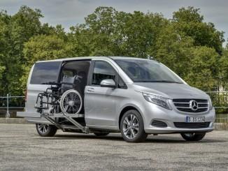 Rehacare 2016: Daimler präsentiert vier Modelle. © spothits/Daimler