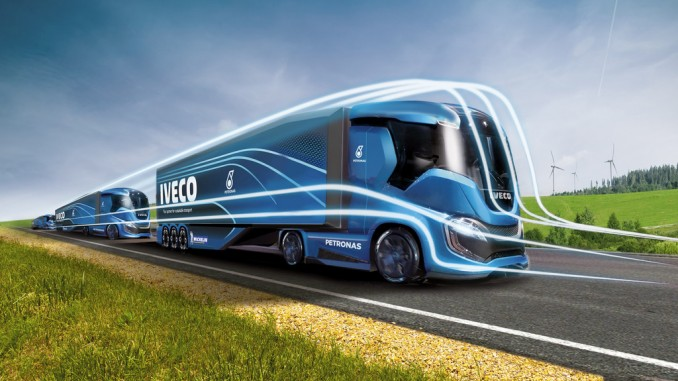 Iveco Z-Truck: 2200 Kilometer ohne CO2-Emissionen. © spothits/Iveco