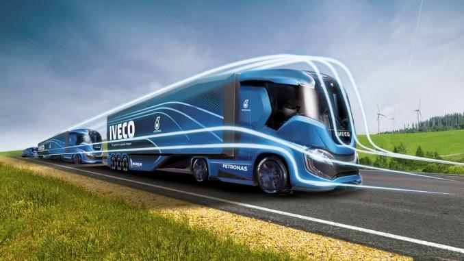 Iveco Z-Truck: 2200 Kilometer ohne CO2-Emissionen. © spothits/Iveco
