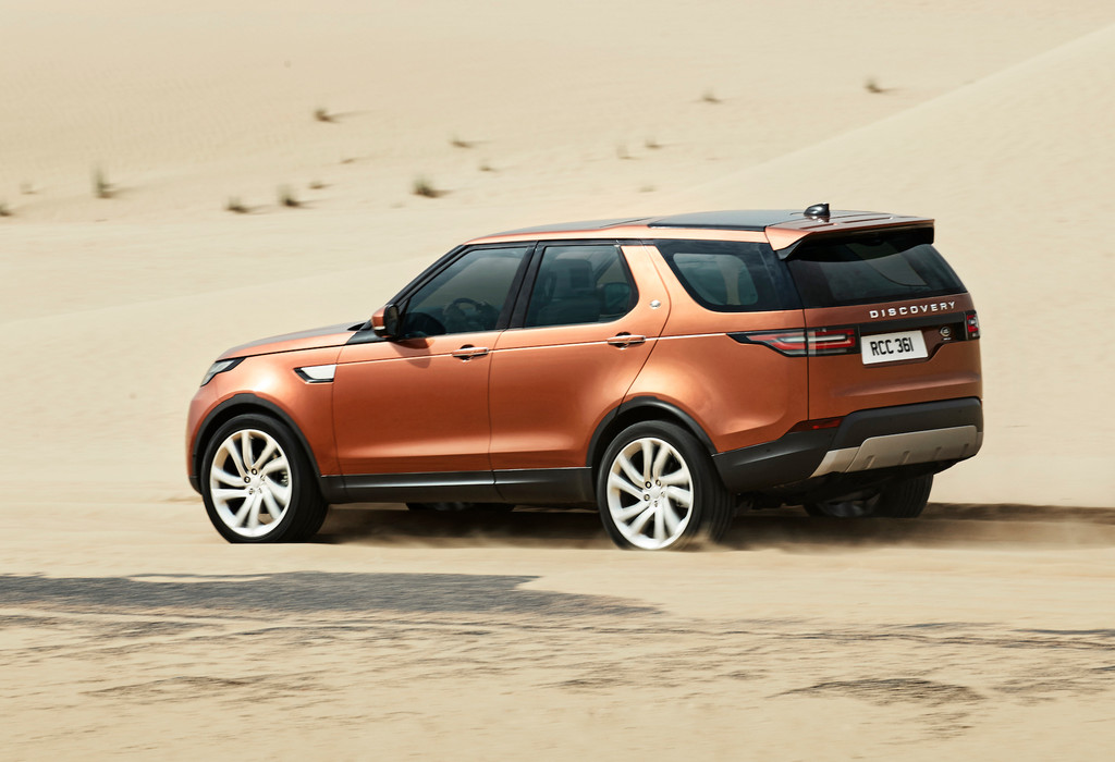 paris 2016 land rover discovery spothits. Black Bedroom Furniture Sets. Home Design Ideas