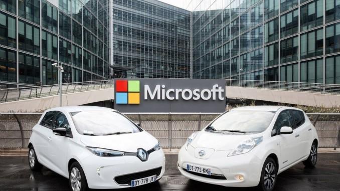 Renault-Nissan-Allianz kooperiert mit Microsoft. © spothits/Renault