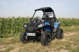Polaris Ace 570: Hybrid mit Herz für Handicaps. © spothits/Jens Riedel
