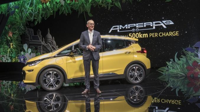 Bis 2030: Jeder dritte Neuwagen ist ein Elektroauto. © sph/Opel
