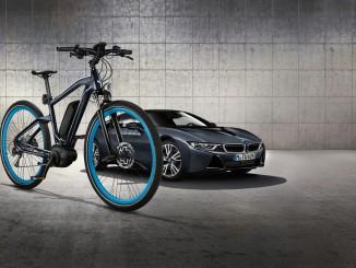 Das passende e-Bike zur BMW i8-Sonderedition. © spothits/BVMW