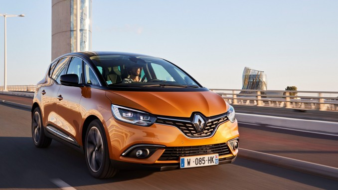 15. Oktober Verkaufsstart Renault Scènic. © spothits/Hersteller