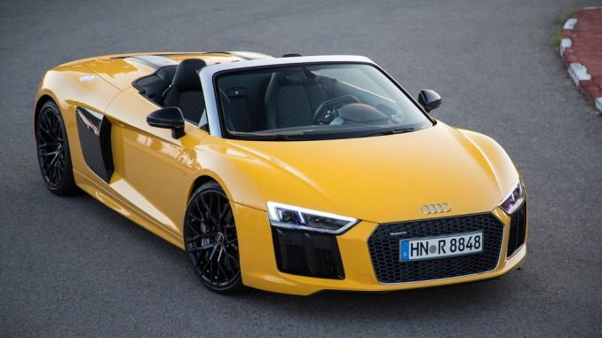 Audi R8 Spyder: Der ultimative Sportwagen. © spothits/Daniel Wollstein/Audi