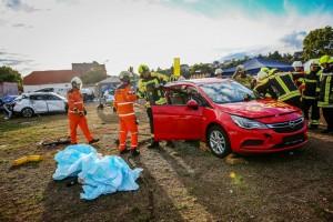 Rescuedays in Bad Kreuznach: Auch Retten will gelernt sein. © spothits/Weber